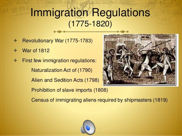 naturalization act of 1790 The first naturalization act, passed by congress on march 26, 1790 (1 stat 103),  provided that any free, white, adult alien, male or female, who.