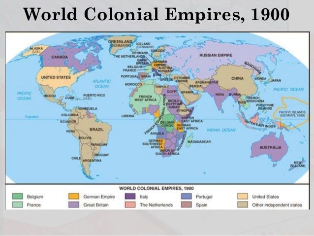American Imperialism - Us imperialism world map