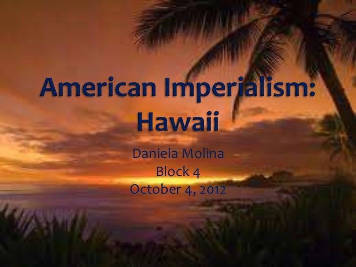 american imperialism  hawaii