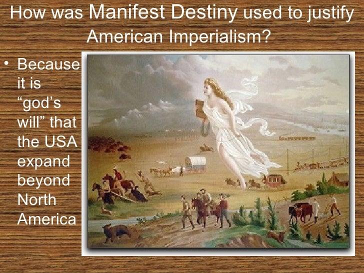 Manifest destiny vs. imperialism ?