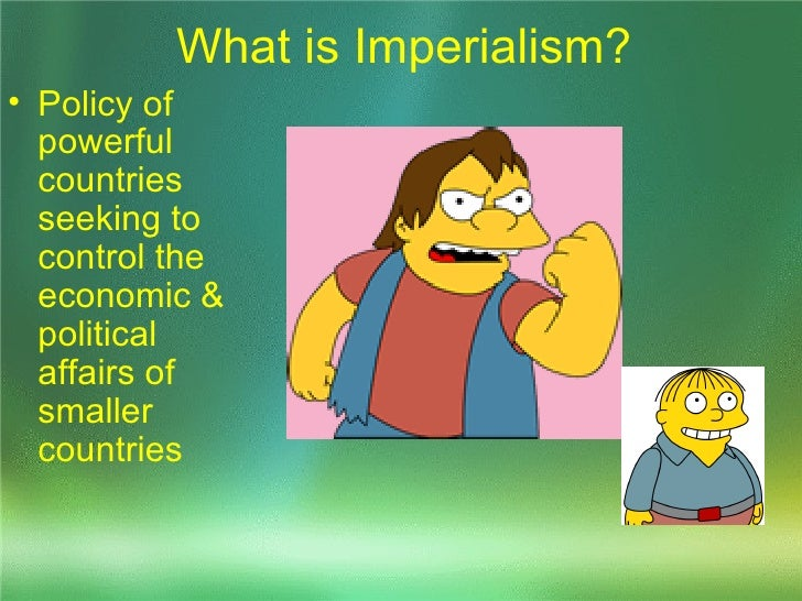 American Imperialism 1867 1899