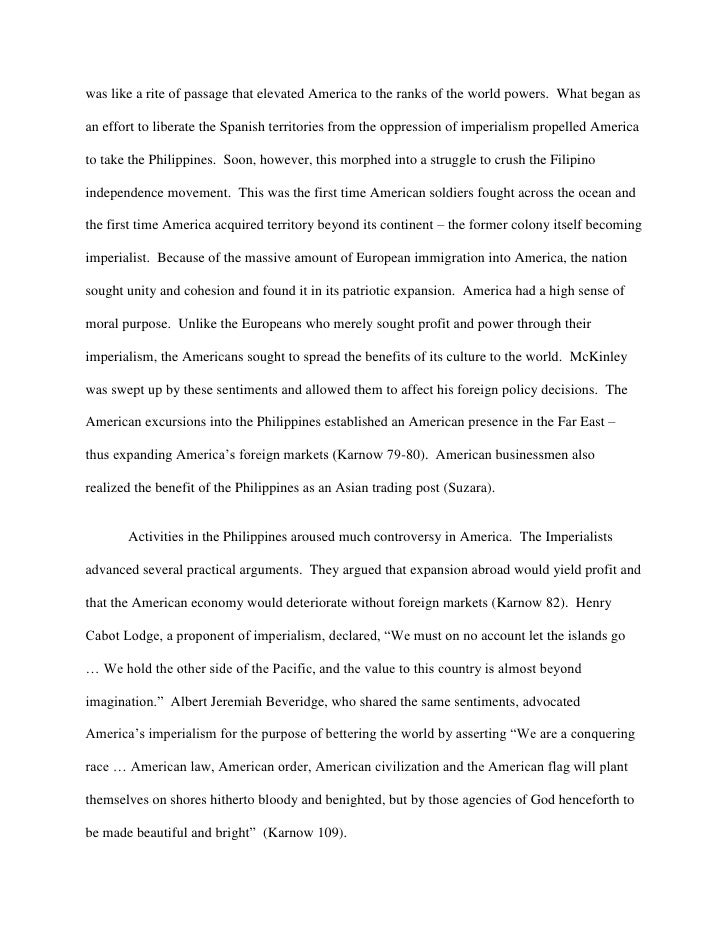 american imperialism essay titles essay on imperialism marketing  american imperialism in the