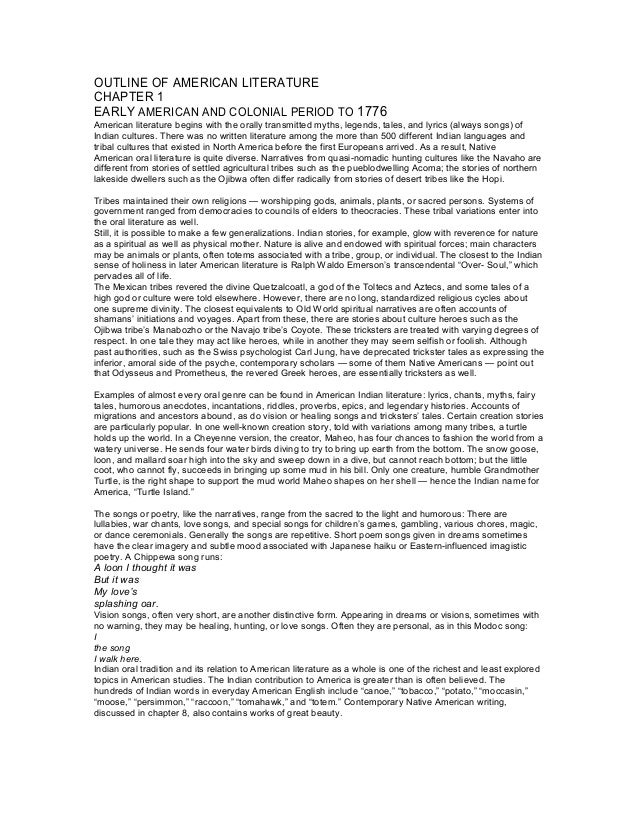 essay on how time period effects literature The inspiration that a writer needs is mostly gathered by the effects of the world around him/her, and this is how the geography and history of america have made an impact on american literature the colonial period, from 1620-1720, was based upon the puritan lifestyle.