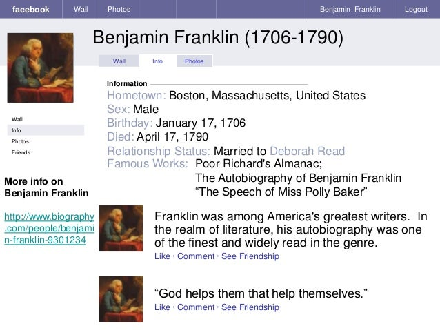 benjamin franklin the speech of polly baker essay