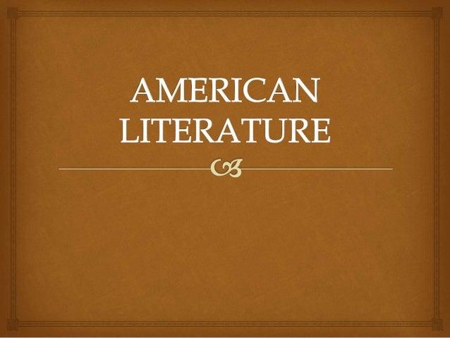 the american literature