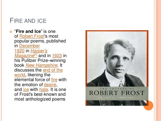 a comparison of robert frosts literary works A comparison of the poetry of emily dickinson and robert frost essay :: 5  works cited length: 1063 words (3 double-spaced pages) rating: purple.