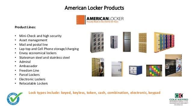 American Locker Overview 2017