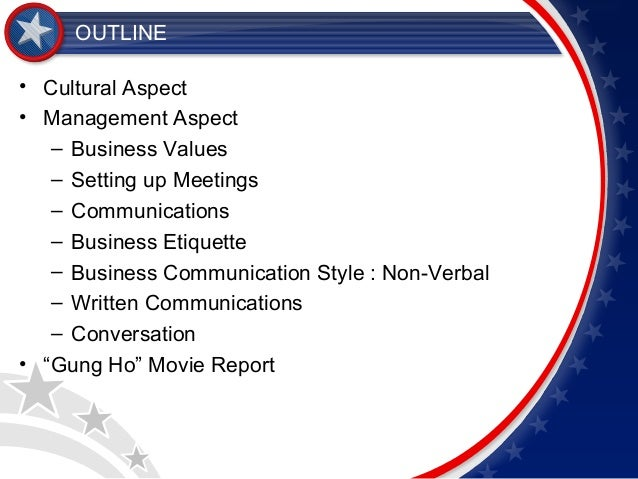 "hofstede s cultural dimensions in gung ho the movie Gung-ho movie and hofstede when it comes to doing business in different countries  ( hofstede's cultural dimensions) ""if your organization is planning to."