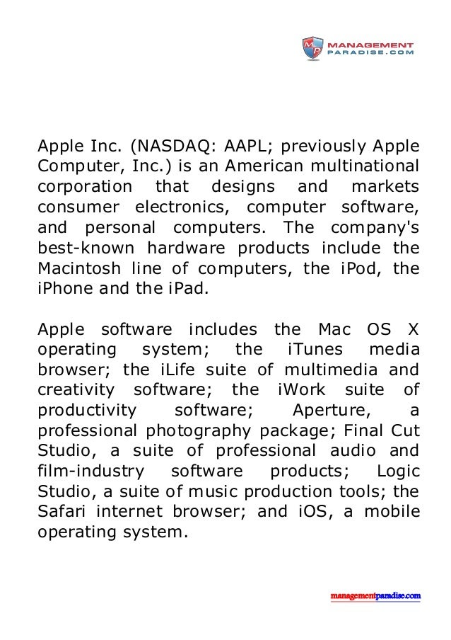 apple american corporation Tech giant apple became the first american company to be worth $1 trillion the company's come a long way from when it nearly went bankrupt in 1997 wired editor-in-chief nick thompson discusses .