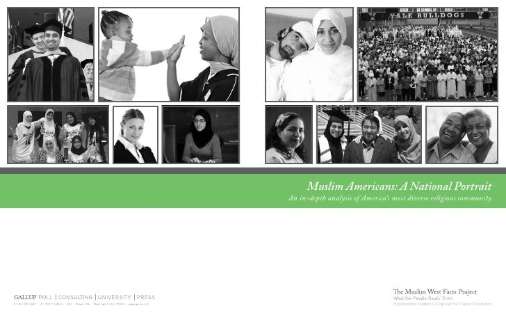 Muslim Americans: A National Portrait An in-depth analysis of America's most diverse religious community                  ...
