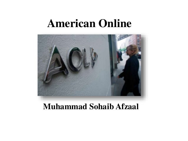 American Online Muhammad Sohaib Afzaal