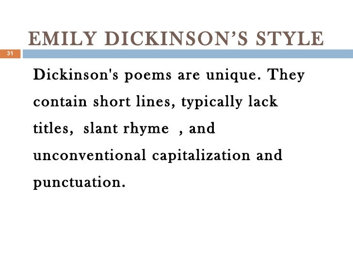major themes in emily dickinson poetry