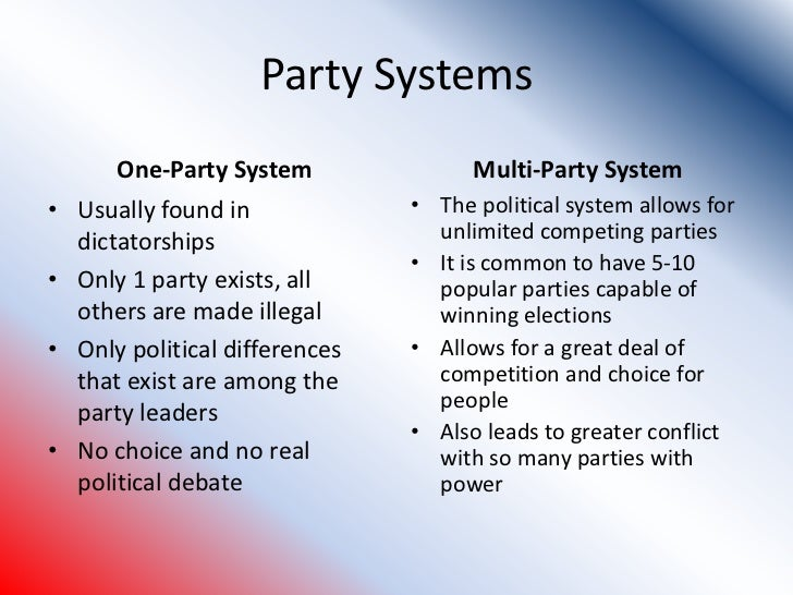 an argument against polarization in the political system A major contributing factor to polarization the argument of one political party only in the new system increasing turnout in congressional primaries.