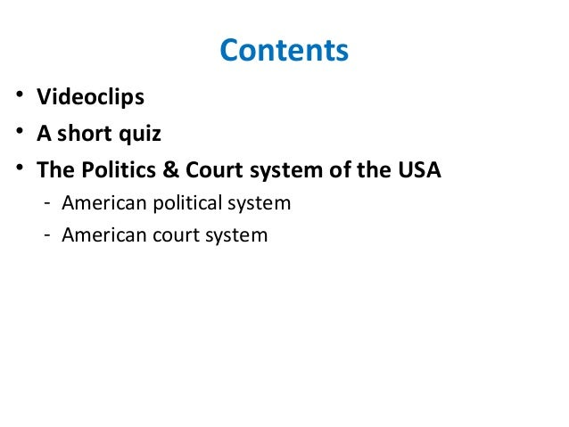 the american judicial system does it The american court system is based on the english common law system the  basic idea is that there are two sides, the plaintiff and the defendant, who present .