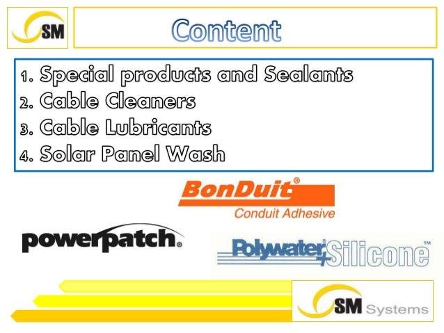 Transformer Leak Sealant And Solar Panel Wash