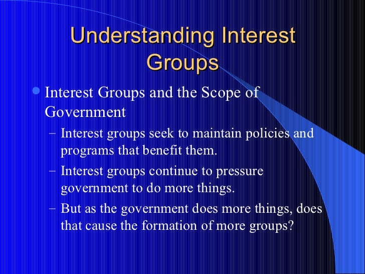 essays on interest groups in america The impact of interest groups on american electionsi introductionindeed, it was james madison in federalist 10 that said that factions are groups that unite to serve selfish goals, not the national interest it is necessary to control them through con.