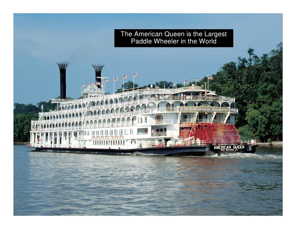 american queen mississippi paddle wheeler