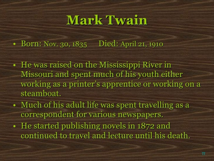 an analysis of the humor regionalism and dialect of mark twain Mark twain and humor 1 week  including mark twain, utilize humor as a way to comment on  does the use of dialect in his telling of.