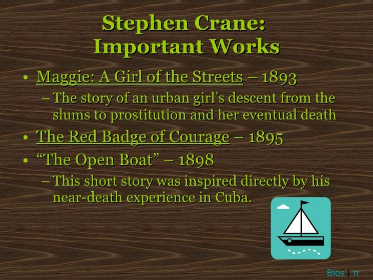 On American Naturalism and Stephen Crane's 'The Open Boat'