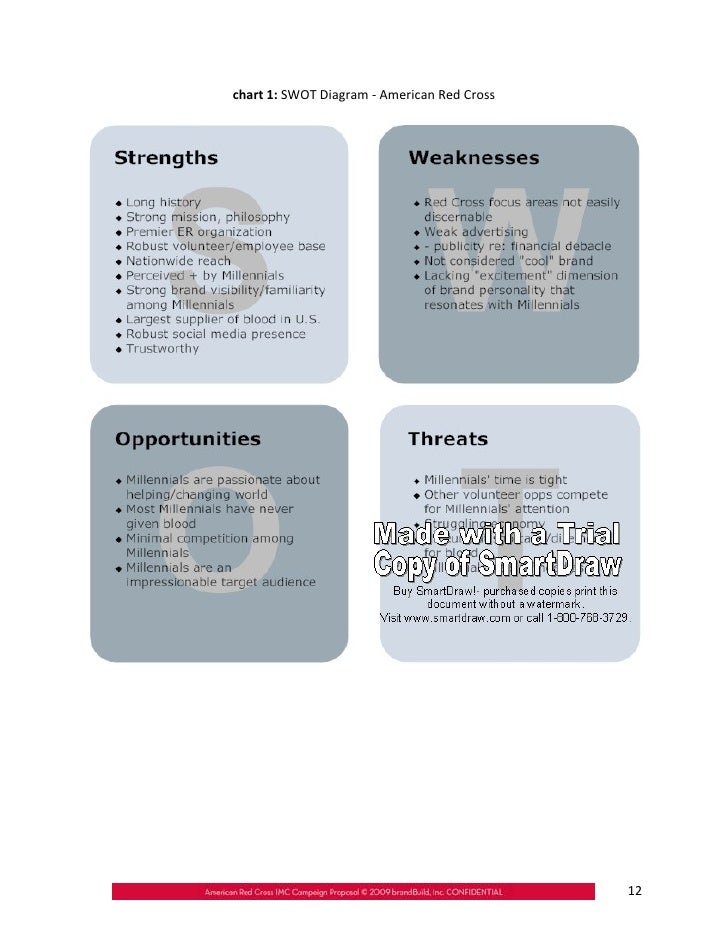Red Cross SWOT Analysis