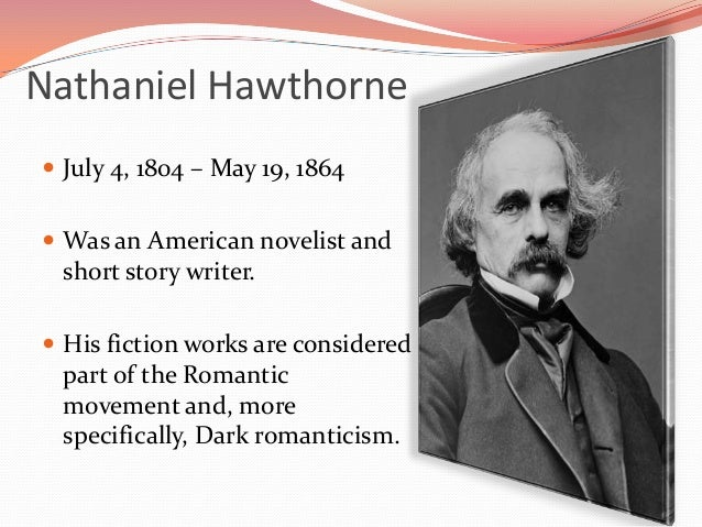 nathaniel hawthorne and romanticism