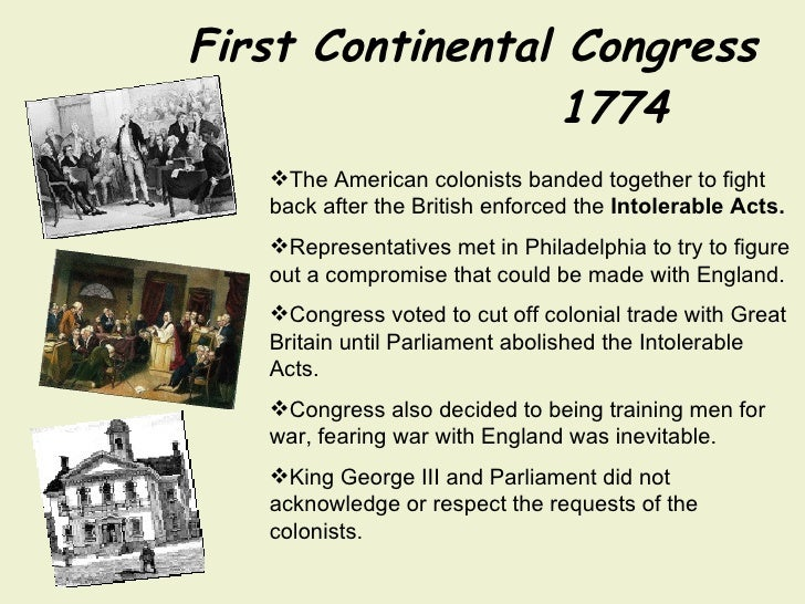 Continental congress in philadelphia essay
