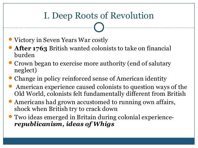 apush frq american revolution