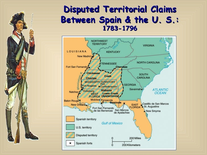 American Revolution And Critical Period Through Maps - Us map 1796