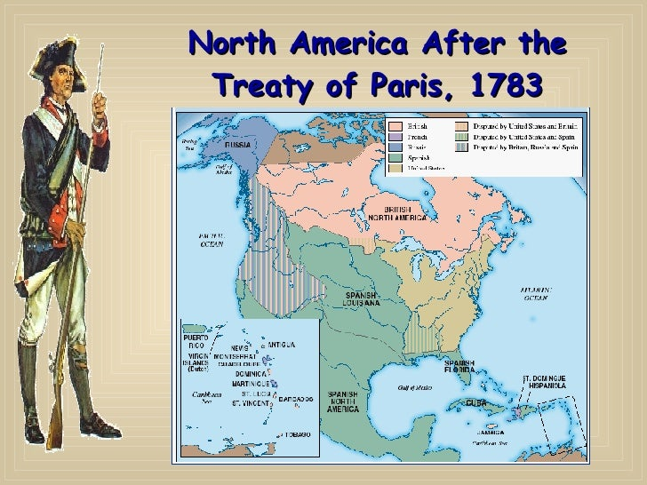 American Revolution And Critical Period Through Maps - Map of us after revolutionary war