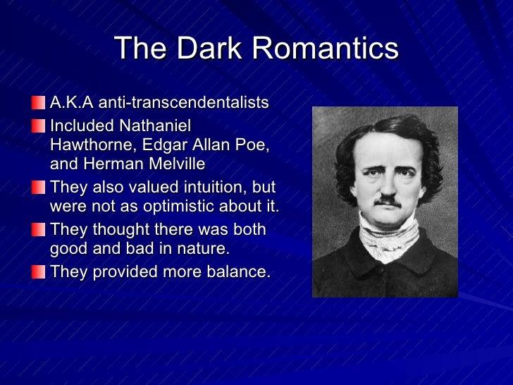 edgar allan poe dark romanticism poems