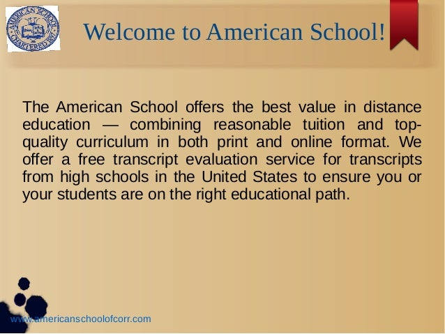 earn your high school diploma with the american school