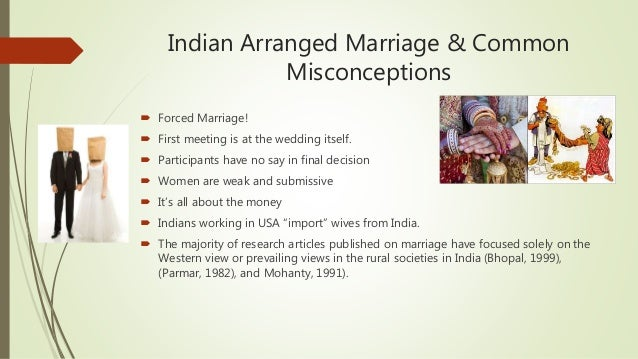 articles on arranged marriages