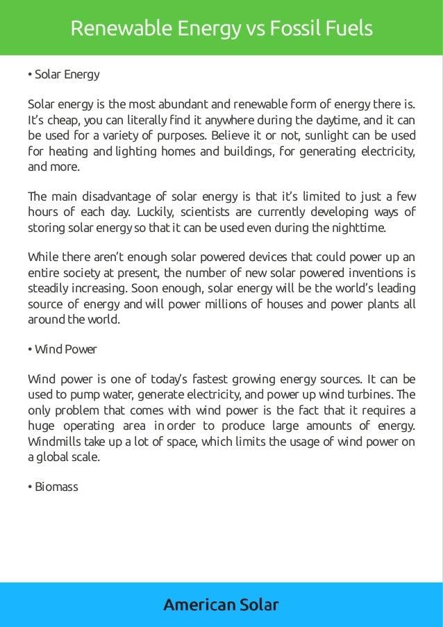 American solar renewable-energy-vs-fossil-fuels