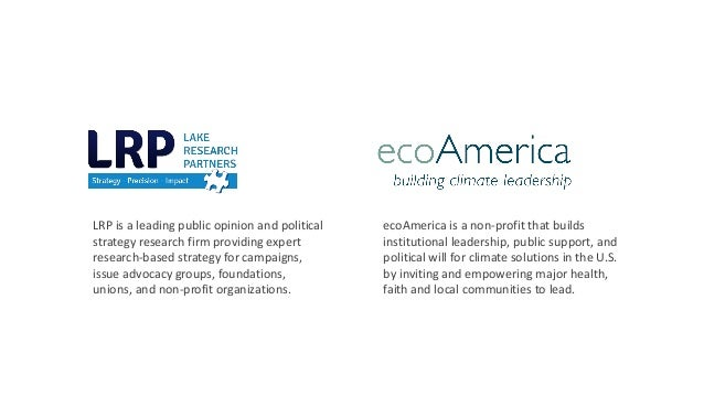American Support for Climate Solutions - ecoAmerica & Lake Research Partners, March 2019 Slide 2