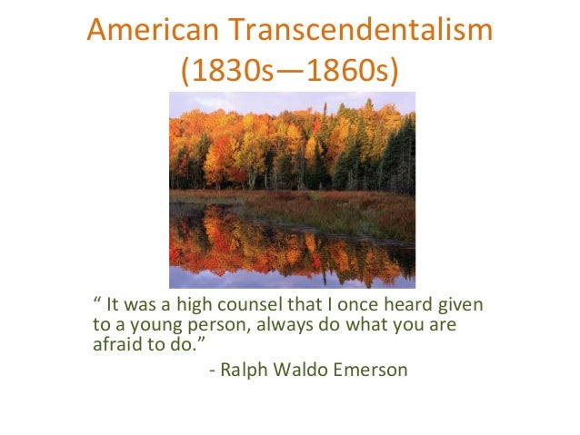 puritanism and transcendentalism essay Free essay: in the mid the scarlet letter and transcendentalism the overbearing efforts of the calvinists and puritans who arrived in the colonies in.