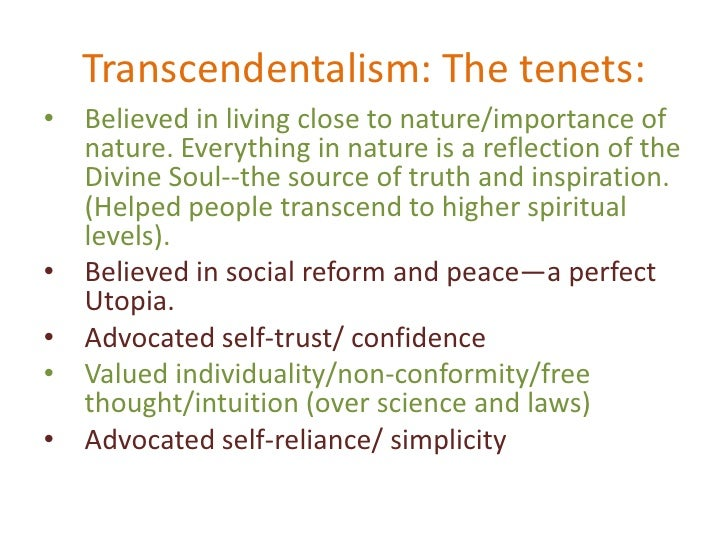 puritanism and transcendentalism essay Puritanism definition is - the beliefs and practices characteristic of the puritans how to use puritanism in a sentence the beliefs and practices characteristic of.