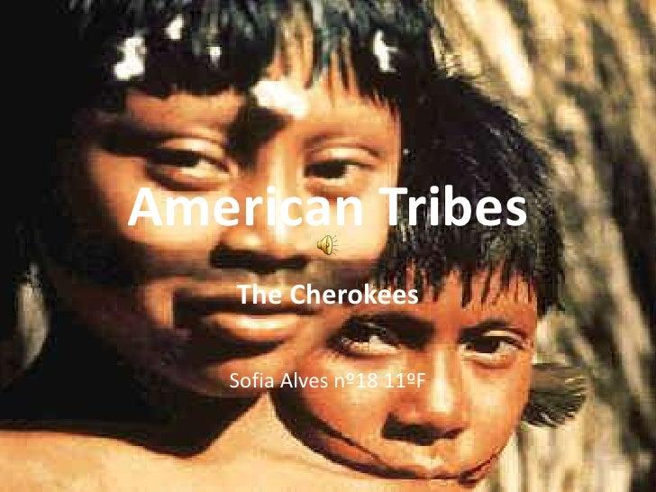 American Tribes<br />TheCherokees<br />Sofia Alves nº18 11ºF<br />