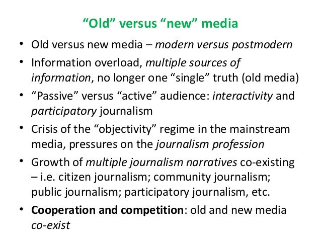 The challenges of teaching journalism students Slide 3