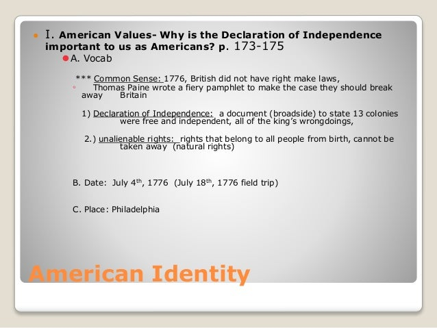american values in the declaration of American values quotes from brainyquote, an extensive collection of quotations by famous authors, celebrities, and newsmakers our government leaders have made many mistakes in the past when they have lost sight of the sacred american values rooted in the declaration of independence and the constitution.