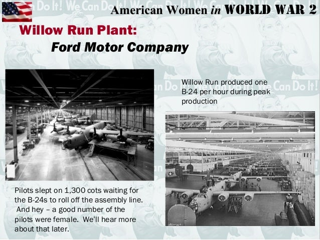 Ford motor company during ww2 for The ford motor company