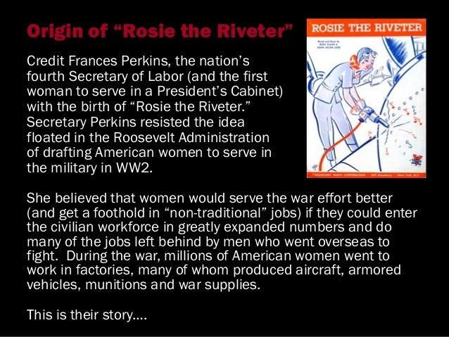 American Women in WW2 Slide 2