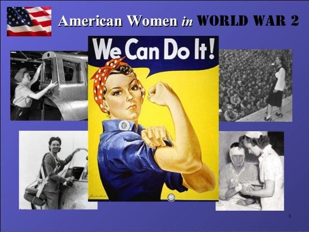 American Women in WW2 Slide 3