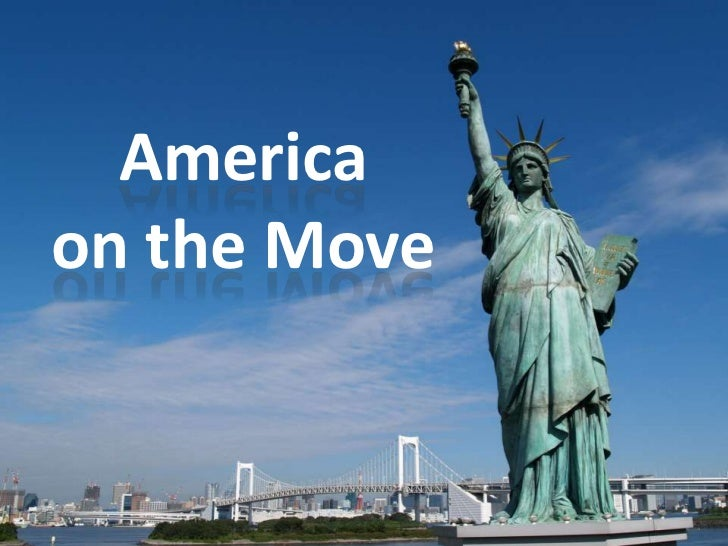 America on the Move<br />