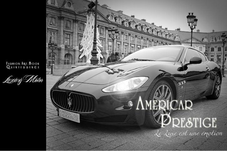 Americar Prestige - Cedric Rosemond
