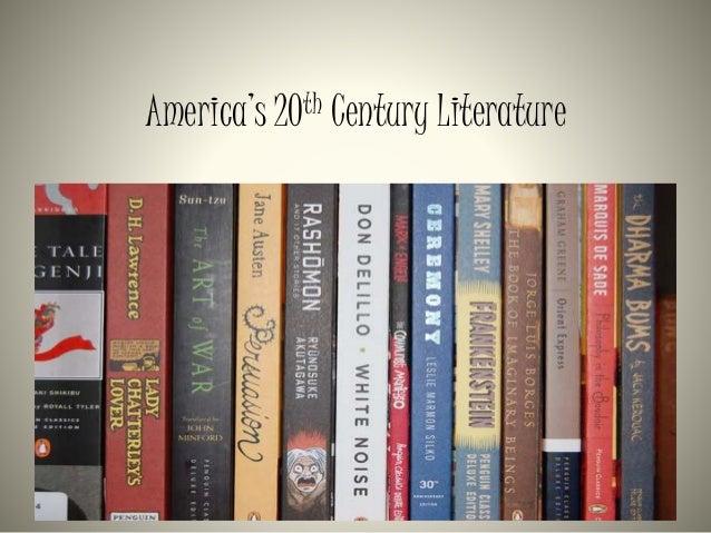 20th century american literature themes