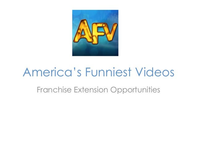 America's Funniest Videos Franchise Extension Opportunities