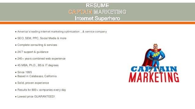 Captain Marketing - Internet Marketing Company in Los Angeles