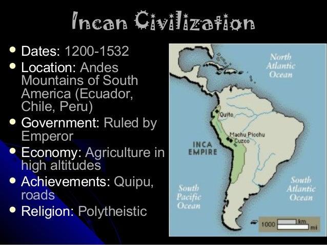 Maya/Aztec/Inca