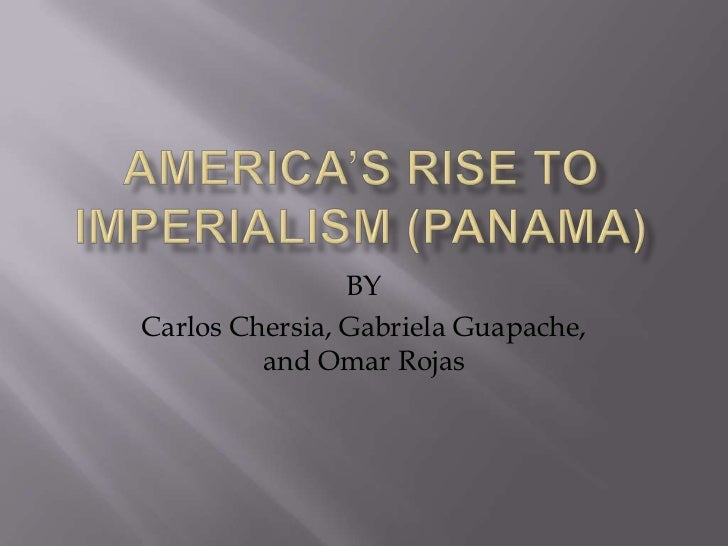 the rise of imperialism in america But already today, german imperialism is benefiting from the global calling in question of american leadership, in the absence of a common enemy such as the defunct ussr and although germany is still far too weak, in relation to the usa, to be able to constitute an imperialist bloc of its own, its rise is already seriously menacing the interests of its main european rivals, including france.