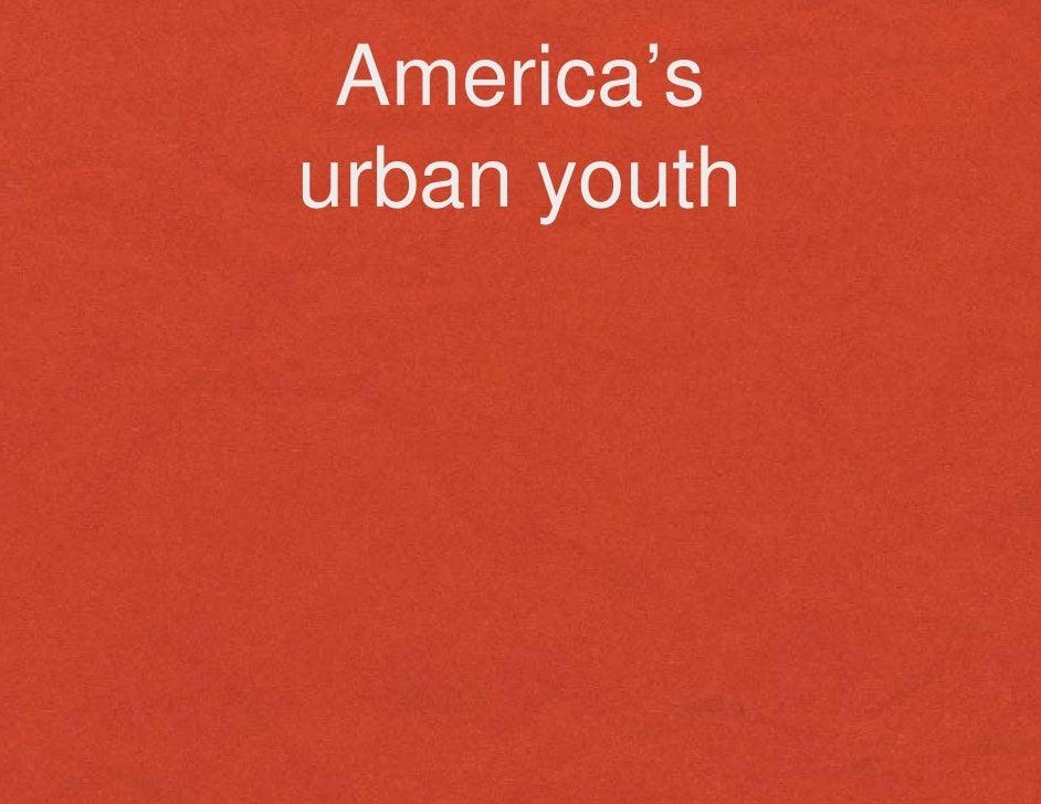 America's urban youth